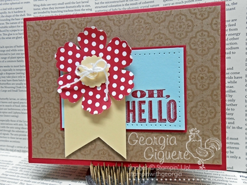 More handmade card ideas from my Impressive in Ink stampers!