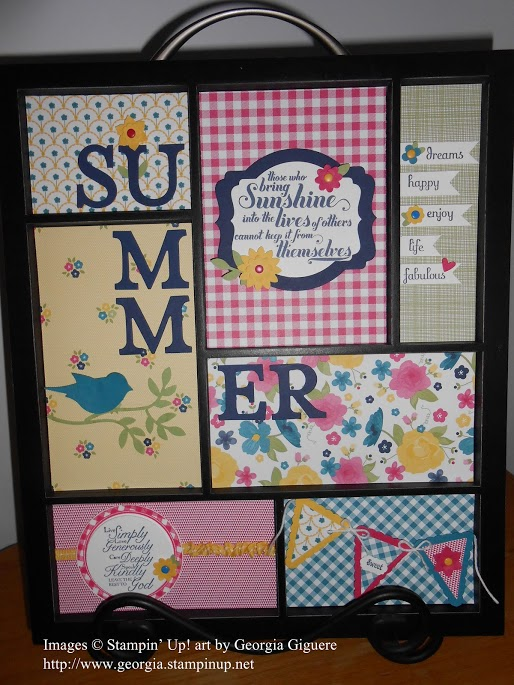 More Ideas using Stampin' Up! Designer Series Paper!