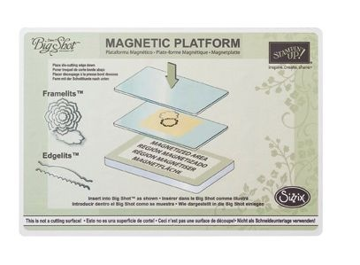 Breaking News. . . Magnetic Platform available to order on Sept. 12th!