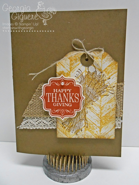 Create adorable tags using the Envelope Punch Board!