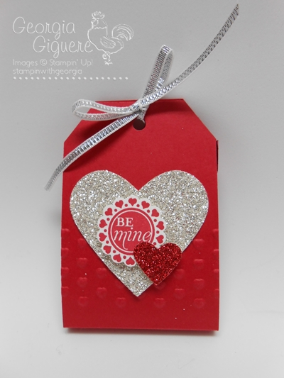DIY Valentine Treats Using NEW Angled Tag Topper Punch