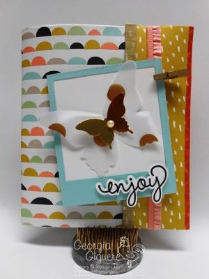 DIY Scrapbook with Sweet Sorbet Designer Paper