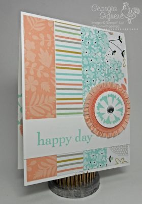 Petal Parade Card . . . Jazzed Up with an Easy Ruffled Accent!