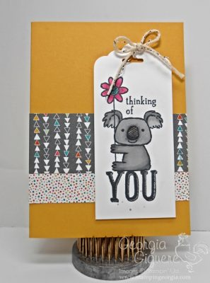 Cute Thinking of You Card with Kind Koala!