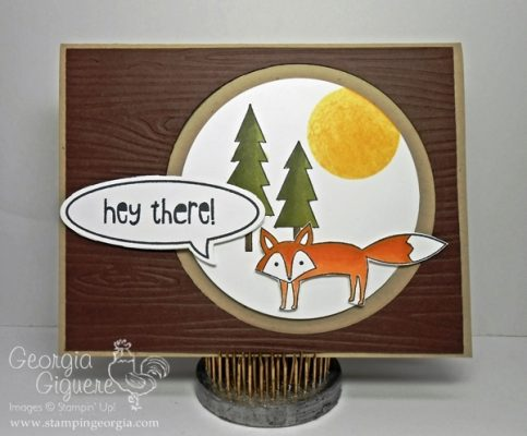 Life in the Forest Card . . . Just Saying' What the Fox Says!