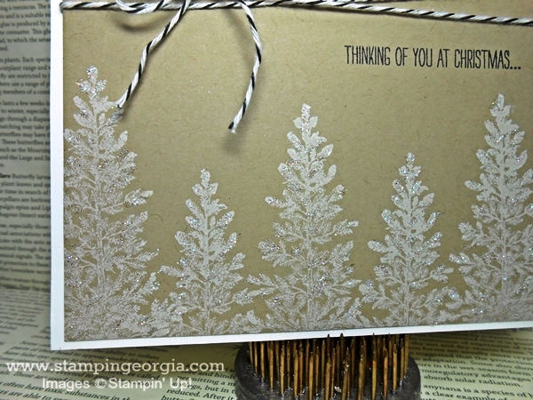 Simply Elegant DIY Christmas Card with Lovely as a Tree Stamps ...