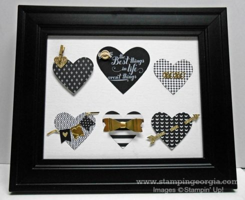 DIY Valentine Decor with Your Stampin' Up! Thinlits and Punches