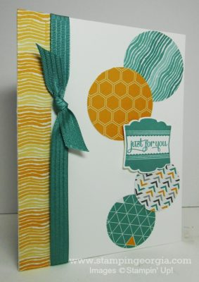 Quick & Easy Card Idea Using Moonlight Paper Scraps!