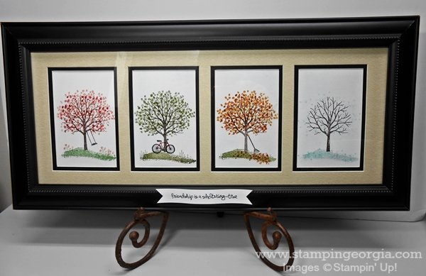 Sheltering Tree Framed Art . . . A Wonderful Gift Idea!