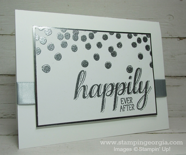 Make A Simple Yet Stellar Wedding Card With Big News Stamps ...