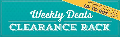 Weekly Deals Clearance Rack