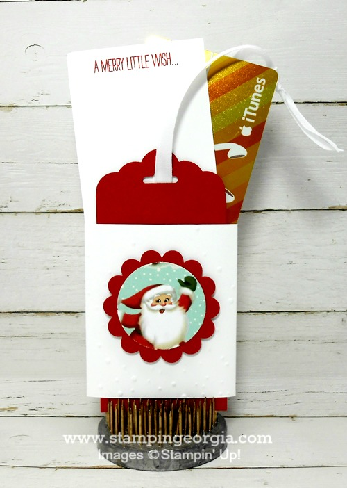 GIft Card Holder with GC