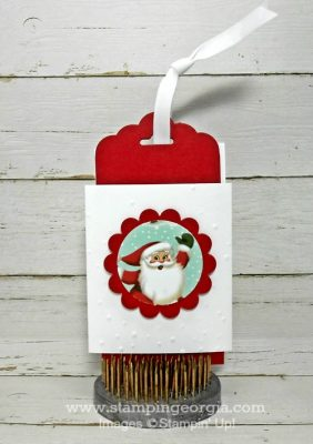 Quick and Easy DIY Gift Card Holders With Home For Christmas Paper