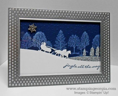 DIY Framed Art with Jingle All the Way Bundle
