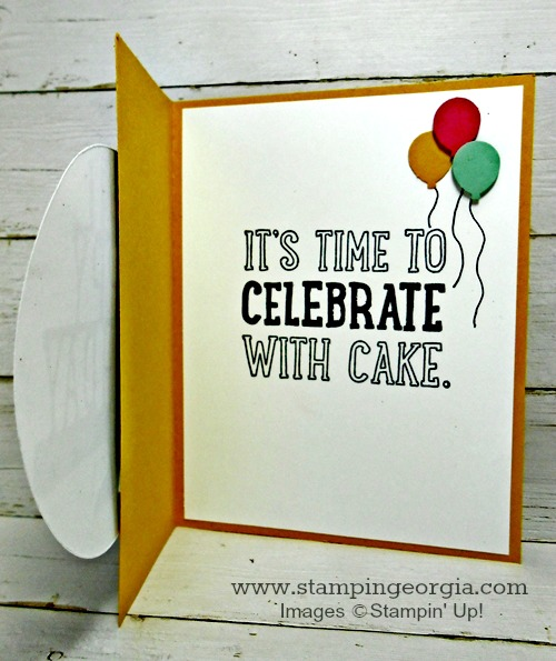 Diy Birthday Card Featuring The New Pop Up Thinlits Dies Stampin