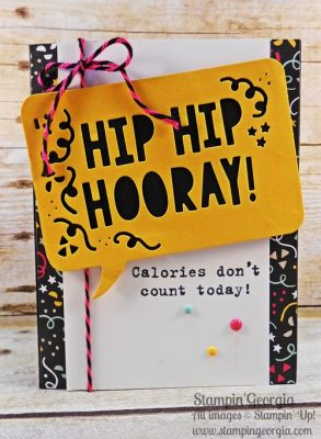 Party Pop-Up Thinlits Dies Birthday Card