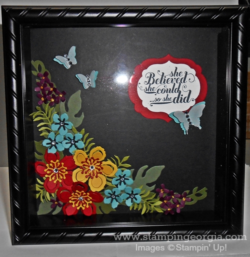 Botanicals Shadow Box 2