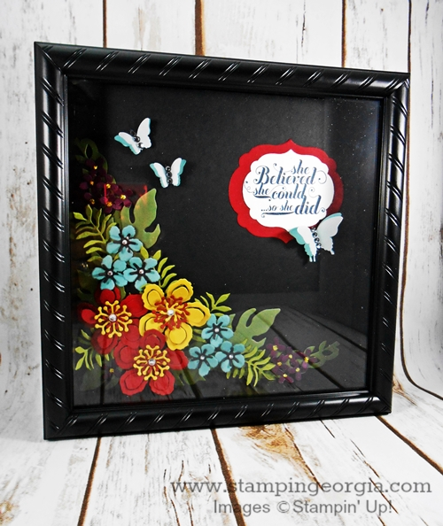 Botanicals Shadow Box