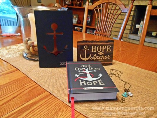 Hope Is My Anchor . . . Plus Another Thoughtful Branches Card!