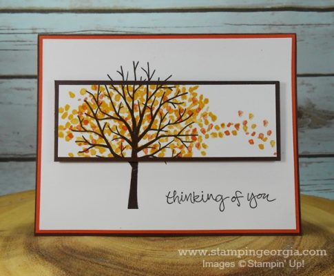 Quick and Easy Spotlighting Technique with Sheltering Tree Stamps