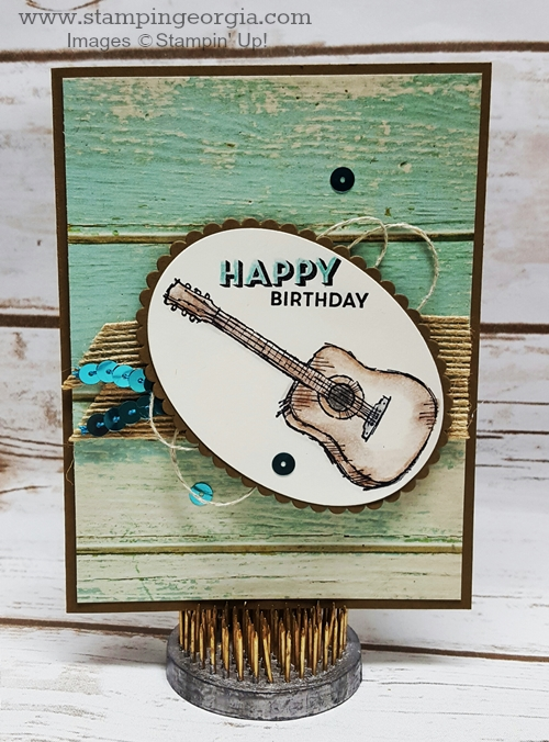 Customize Your Birthday Cards . . . One For A Guitar Player