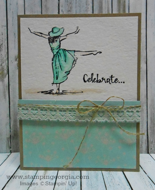 Simple Yet Elegant Card With Beautiful You Stamps Stampin With