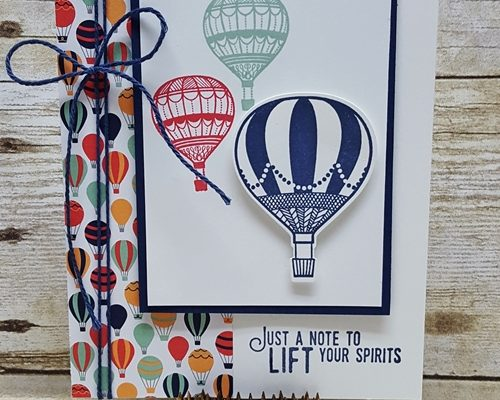 Quick and Easy Card with the Lift Me Up Bundle!