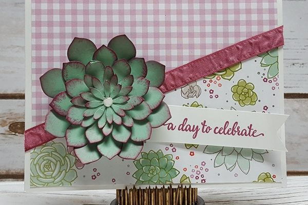 Celebrate With Paper Succulents!