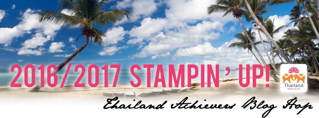 Thailand Achiever's Blog Hop for May . . . New Catalog Sneak Peeks