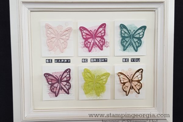 Use Your Stamps For Decor!