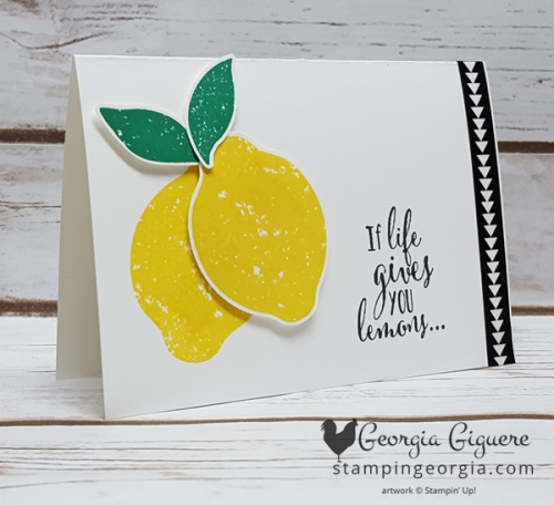 Lemon Zest Note Card 2