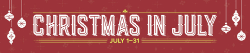 July Promo Christmas In July
