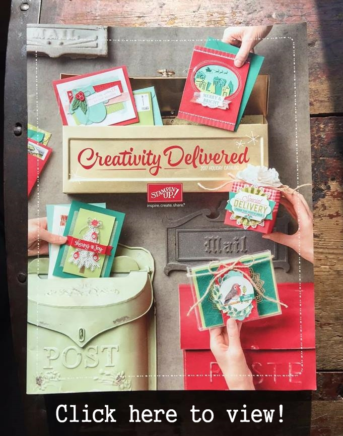 Stampin' Up! 2017 Holiday Catalog Download your copy! Shop 24/7 at www.georgia.stampinup.net