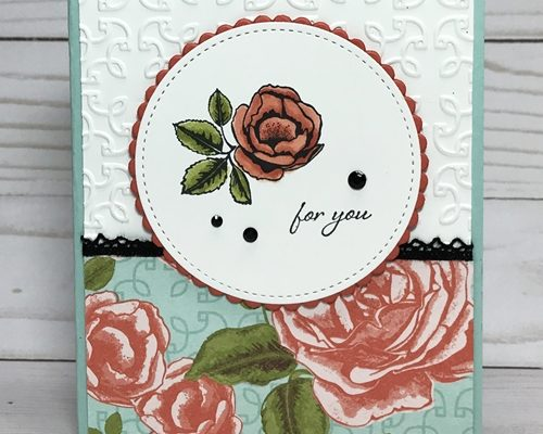 Graceful Garden and Stampin' Blends . . . A Perfect Match!