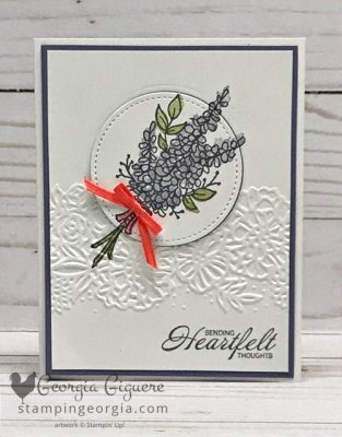 Lots of Lavender Card . . . Just Lovely!