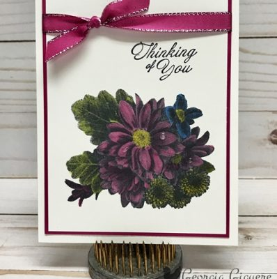 Stunning Heartfelt Blooms Card!