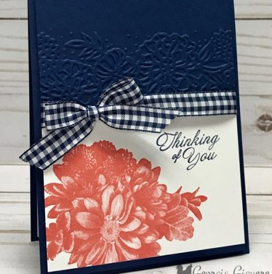 Elegant Heartfelt Blooms Card