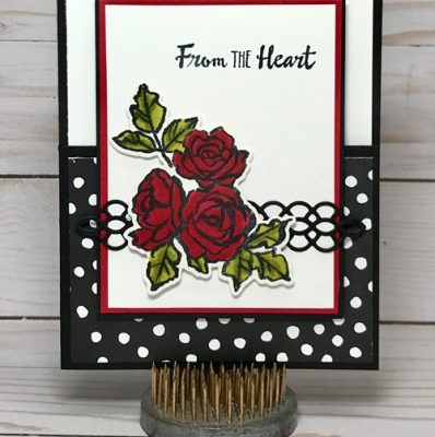 Petal Palette Card with Dutch Door Front