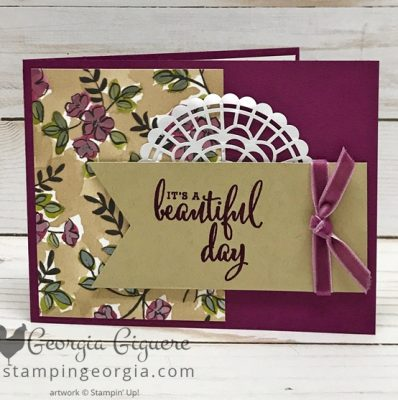 Love What You Do Beautiful Day Card