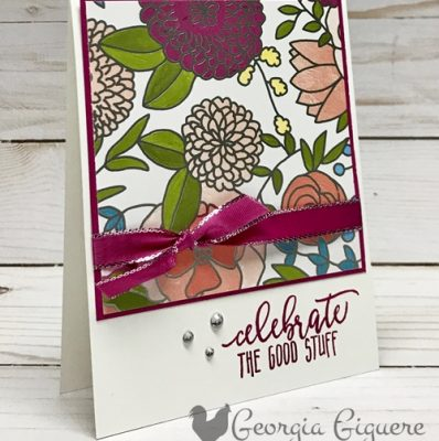 Sweet Soiree Paper Yields Quick & Easy Cards!