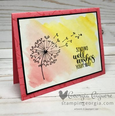 Easy Watercolor Wash Background