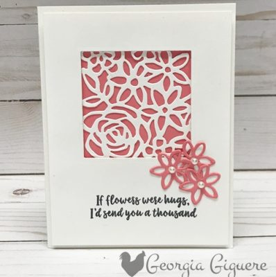Abstract Impressions Card