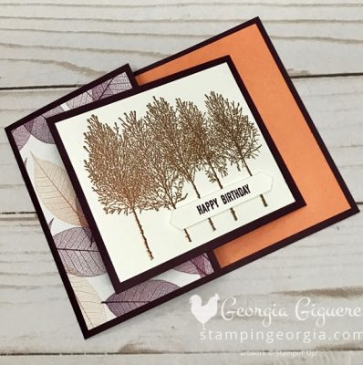 Winter Woods Masculine Birthday Card